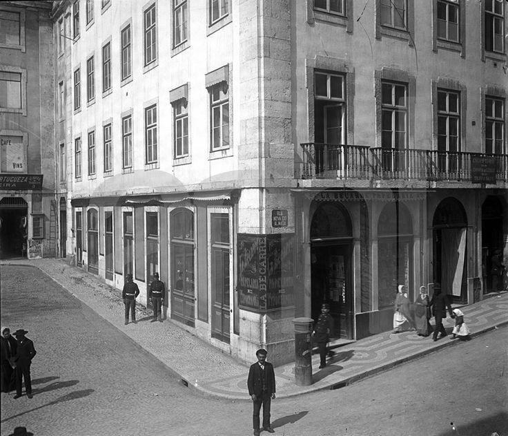 Lisboa antiga - Rua Nova do Almada - PORTUGAL