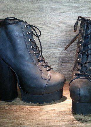 Kaufe meinen Artikel bei #Kleiderkreisel http://www.kleiderkreisel.de/damenschuhe/hohe-schuhe/139731686-jeffrey-campbell-schuhe-plateaus-high-heels-design-blogger40