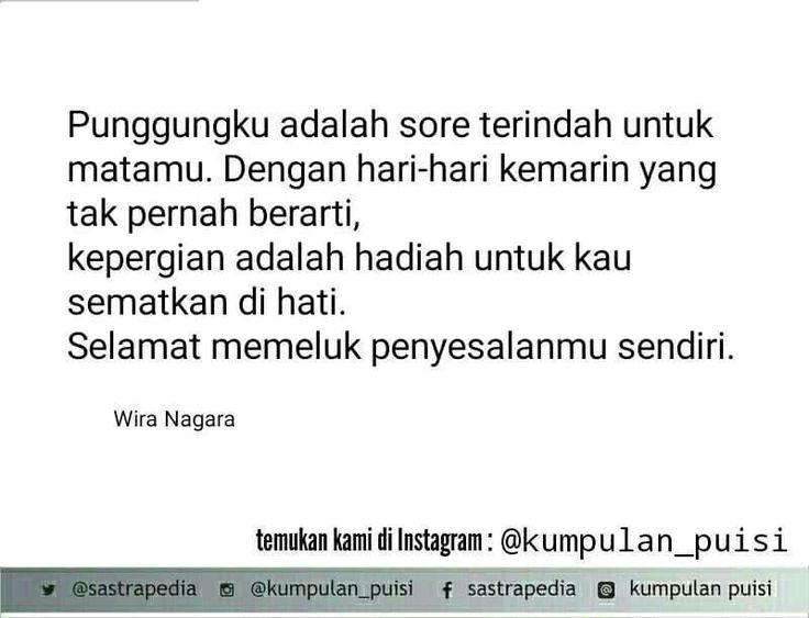 Puisi pendek. Sajak. Kumpulan puisi. Puisi by Wira Nagara.