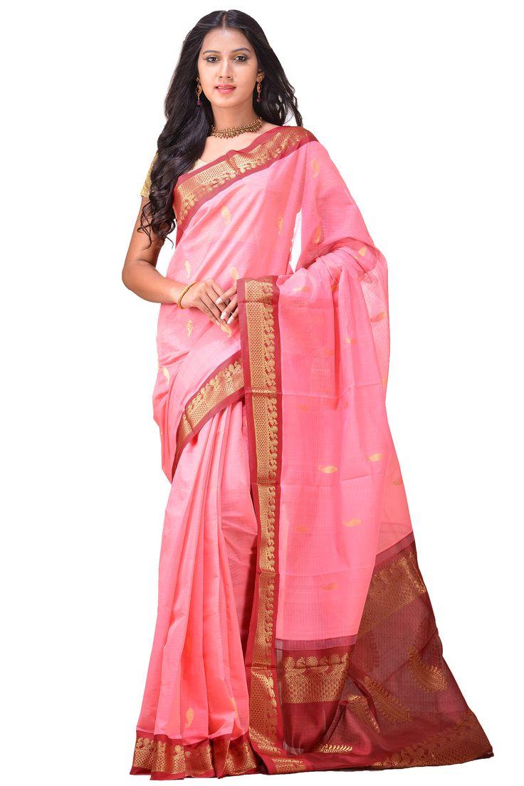 Gadwal Silk Handloom Saree