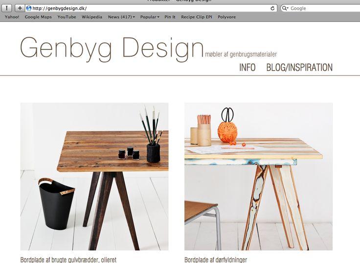 Httpgenbygdesigndk Design Website Bookmarks Pinterest