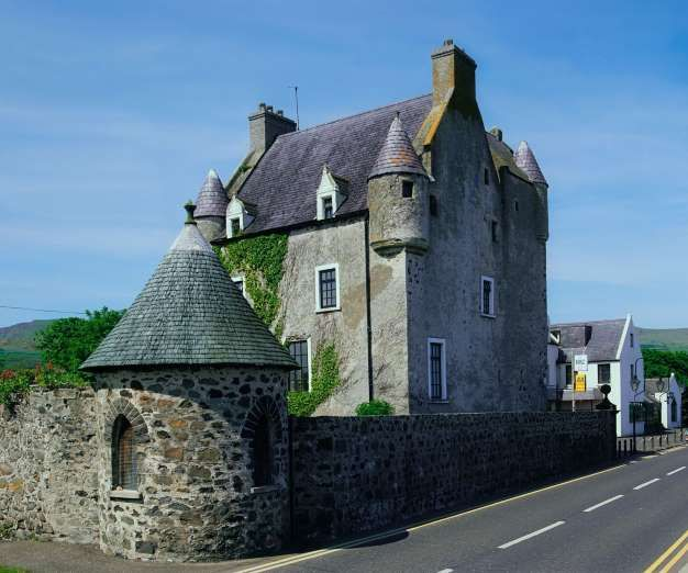 Ballygally Castle Hotel, Northern Ireland - Isabella Shaw, the former Lady of the Castle in 1625, was locked her inside a room by her husband immediately after she gave birth to their son. She died after falling out of a window in an attempt to escape. It is believed she has wandered the castle for over 400 years in search of the son who was taken from her.