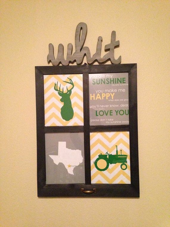 Boy Room Decor John Deere Nursery Art Deer Tractor By Karimachal 45 00 Inspiration Boys