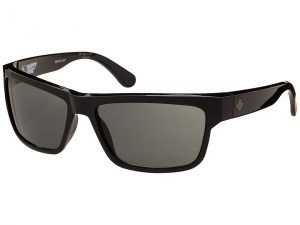 Spy Optic Frazier (Happy Lens) (Black Happy Grey Green) Sport Sunglasses