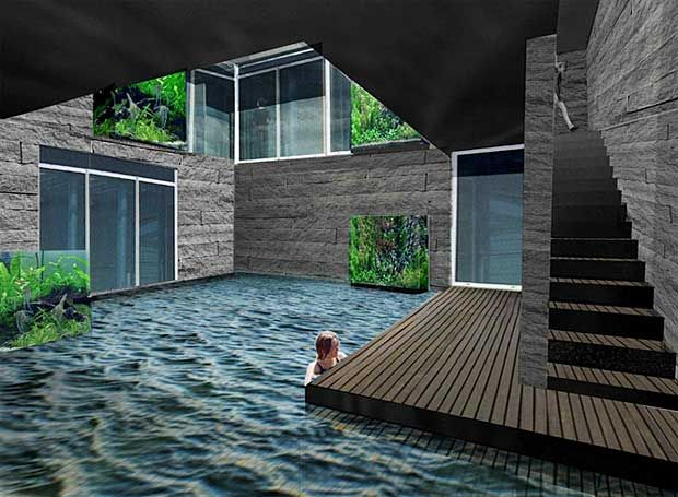 underground houses. house with underground pool Best 25  Underground homes ideas on Pinterest Earth