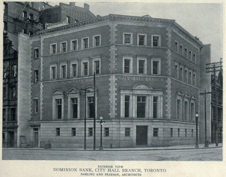 The Dominion Bank, City Hall Branch