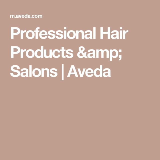 Professional Hair Products & Salons | Aveda
