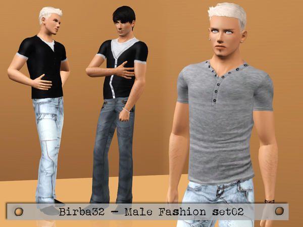 Birba32's Male Fashion Set 02