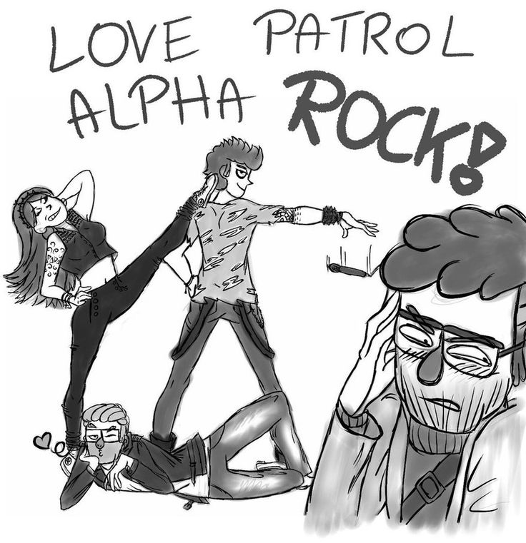Love Patrol Alpha - ROCK VERSION! by AnnaPines