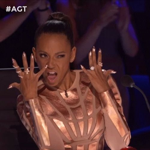New trendy GIF/ Giphy. agt americas got talent pose posing mel b. Let like/ repin/ follow @cutephonecases