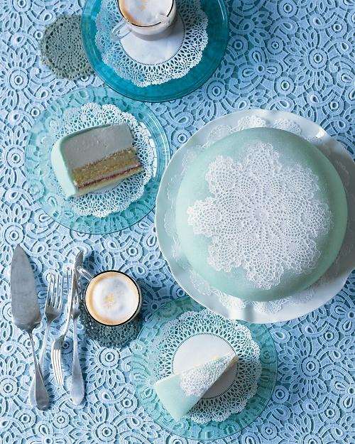 Scandinavian Princess Cake - Martha Stewart Recipes