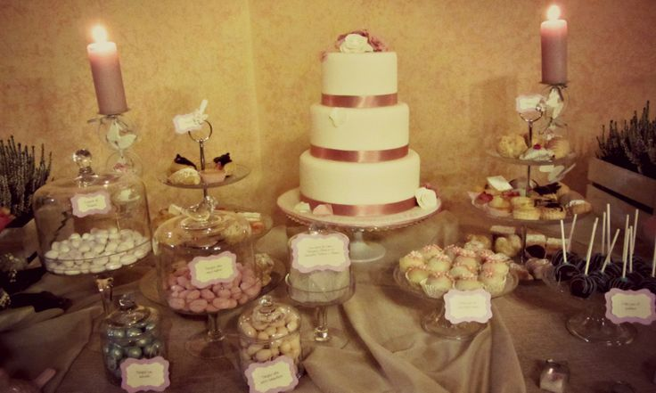 Country wedding sweet table