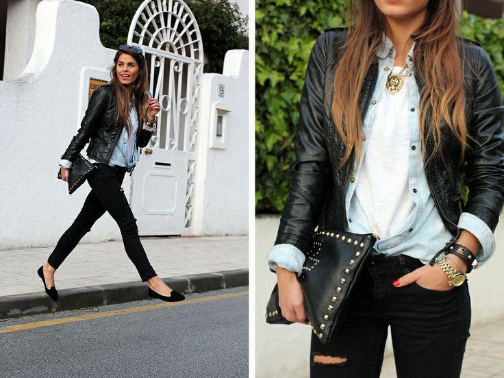 56 best Wear light denim shirt images on Pinterest | Jean shirts ...