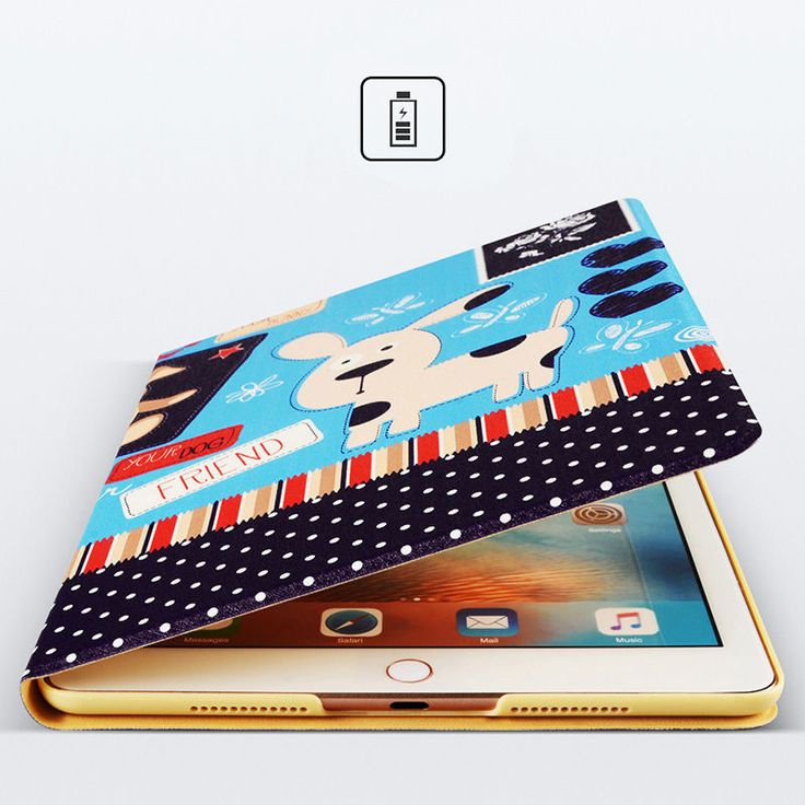 Leather Case For Apple i Pad 5 6 Air 1 2 Pro Mini Cover For i Pad Mini 1 2 3 4 Xiaomi Tablet Coque Flip Wallet Bag Fold Capa | iPhone Covers Online