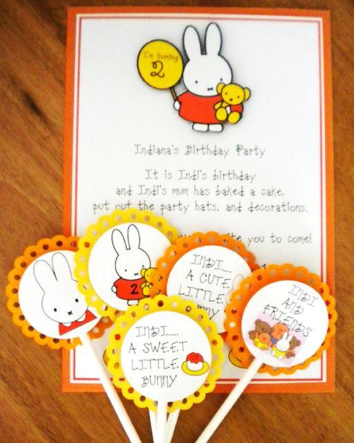 "Photo 3 of 10: Birthday ""Indiana's Miffy Birthday"" | Catch My Party"