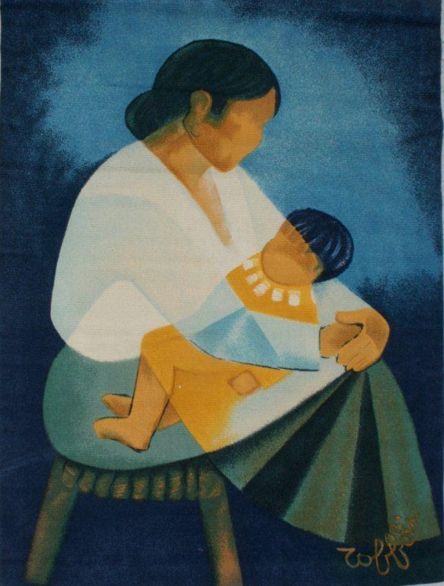 Maternit e by louis toffoli 1907 1999 pinturas for Pinturas para el hogar