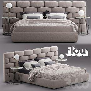Кровать Flou MAJAL Bed