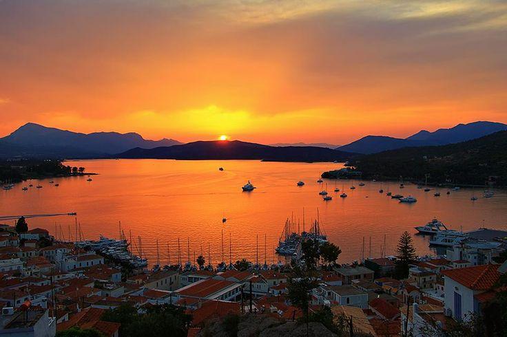 Magical Sunset   www.goldenview.gr