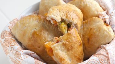 Ham and Cheese Pizza Pockets