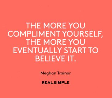 Inspiring words from Meghan Trainor.