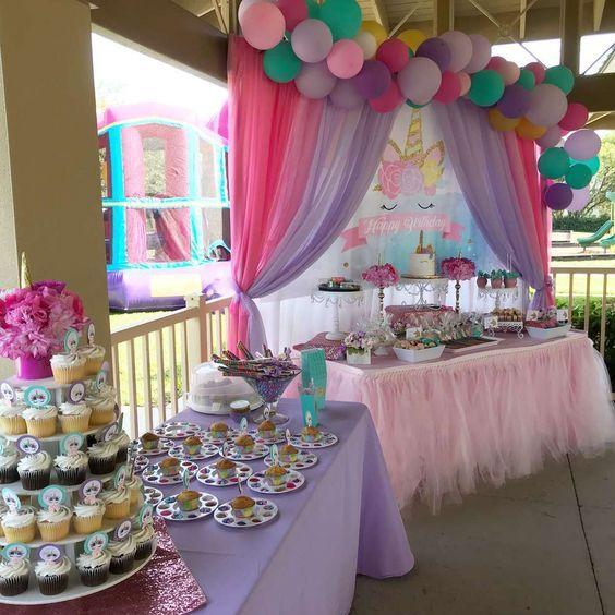 Unicorns Birthday Party Ideas   Girls bedroom ideas