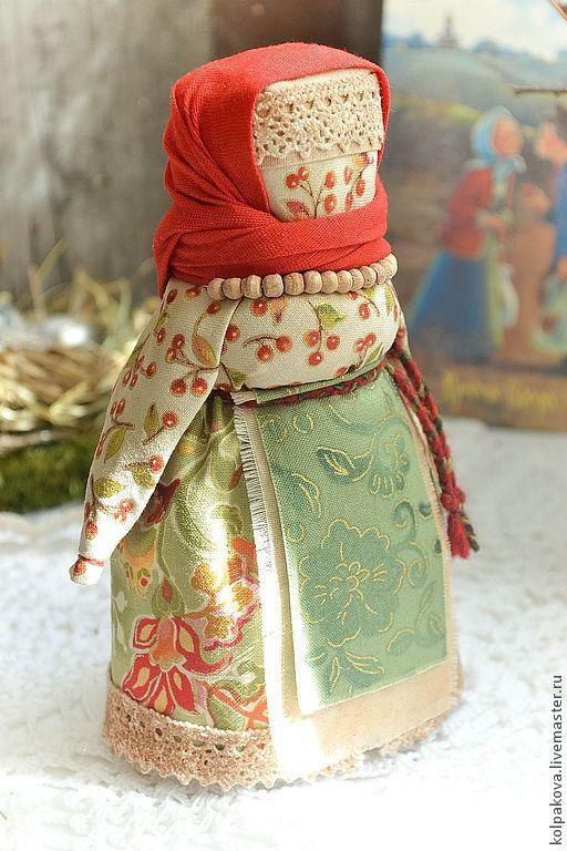 """Купить куколка Пасхальная""""Воскресный день"""". - ярко-красный, хлопок, лен, кукла народная, кукла текстильная"""