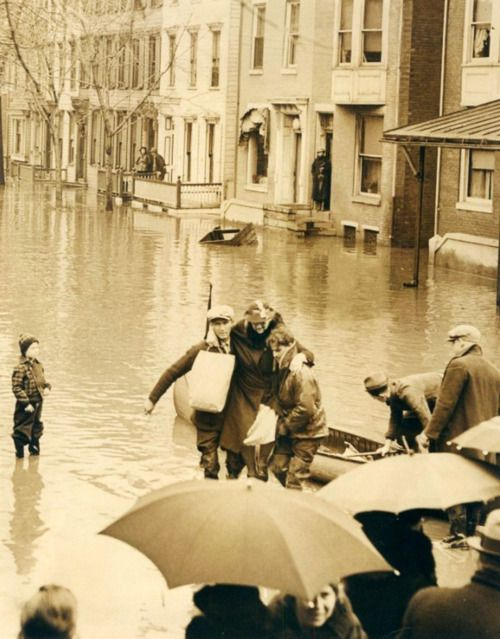 Harrisburg, Pennsylvania - 1936, floods.
