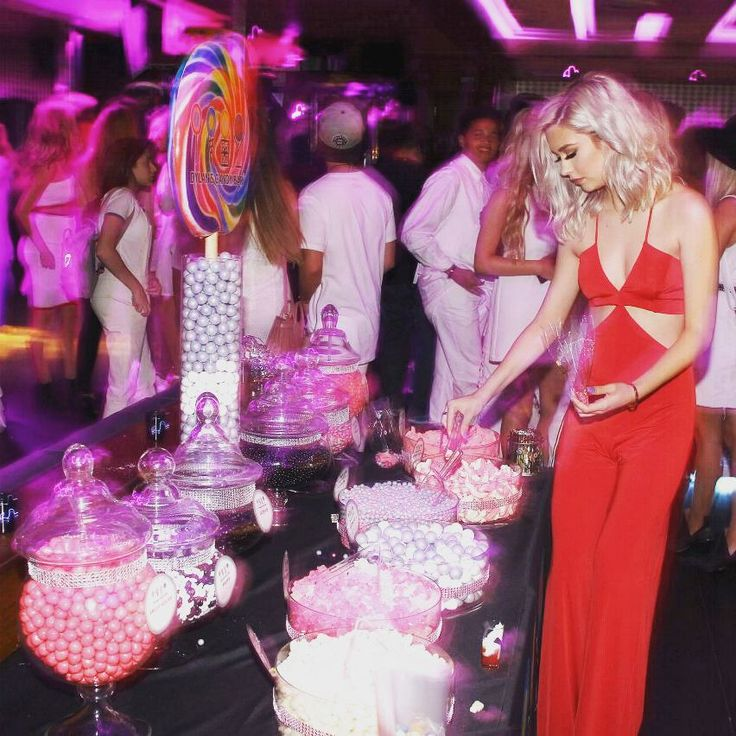 Beauty Blogger Amanda Steele celebrating her birthday in the Nasty Gal Disco Inferno Jumpsuit  || Shop the look: http://www.nastygal.com/product/nasty-gal-frisco-inferno-knit-cutout-jumpsuit--red?utm_source=pinterest&utm_medium=smm&utm_term=nastygals_do_it_better&utm_campaign=ngdib