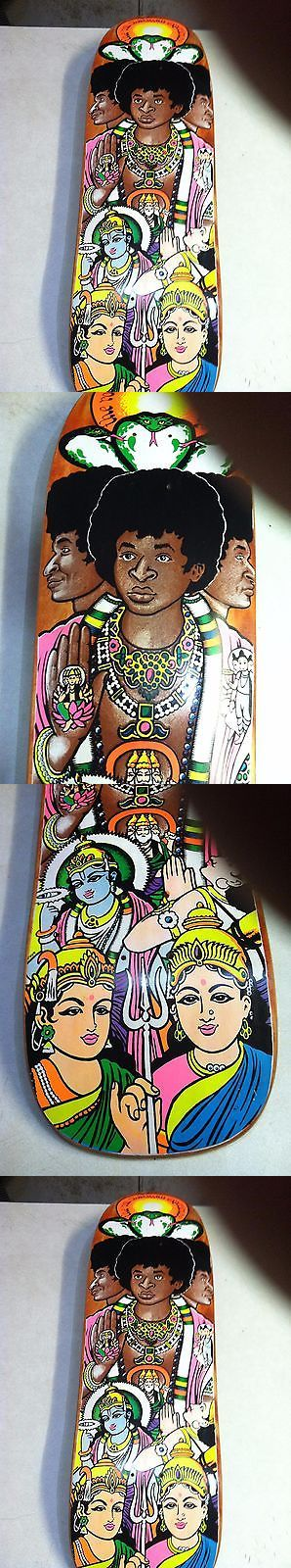 Vintage 114248: Ron Chatman Cease And Desist World Industries Skateboard Deck BUY IT NOW ONLY: $200.0