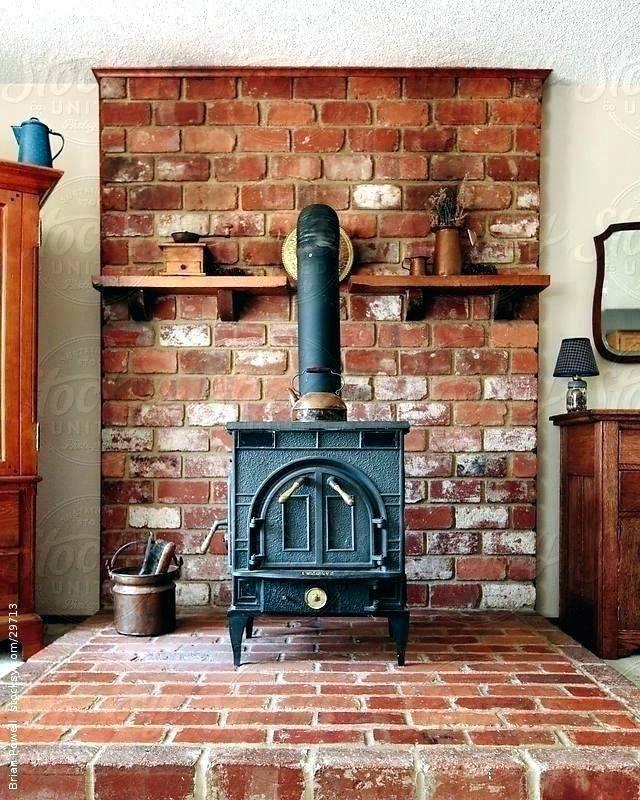 Convert Fireplace To Wood Burning Stove Wood Stove Mantel Wood