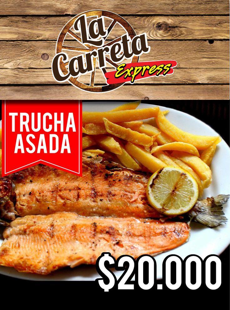 "Impreso para restaurante ""La Carreta Express"""