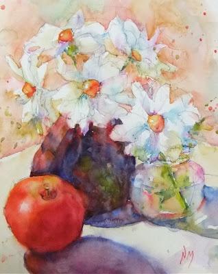 Nora MacPhail wa...R C Moore Watercolors