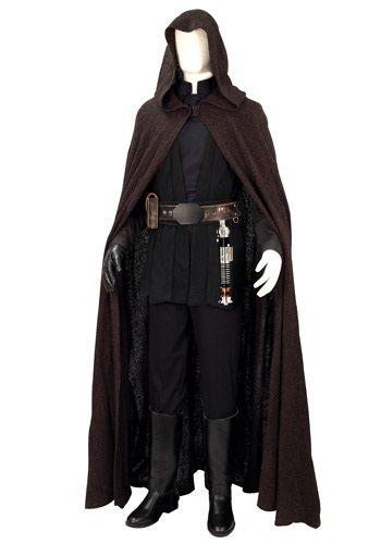 Replica Jedi Knight Luke Skywalker Costume - Collectors Star Wars Costumes