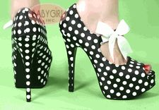 1950's pin-up style shoes
