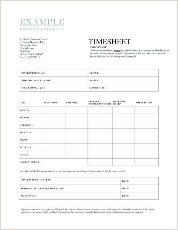 Independent Contractor Timesheet Template In 2020 Timesheet
