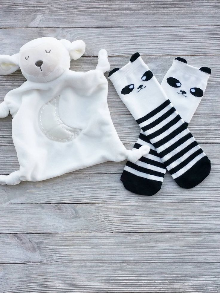 Baby Panda Socks Baby Socks Toddler Socks Girls Socks Boy Socks Animal Socks Cute Socks