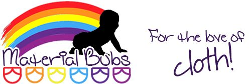 Material Bubs is a specialist in Modern Cloth Nappies and WAHM (work at home mum) embroidered MCN's.