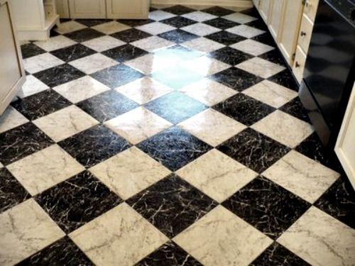 Checker Hardwood Floors