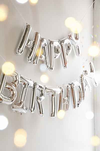 Happy Birthday Metallic Party Balloons