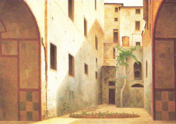 """""""Ghetto di Firenze"""" Fabio Borbottoni (1820–1902)  Cassa di Risparmio di Firenze Collection"""