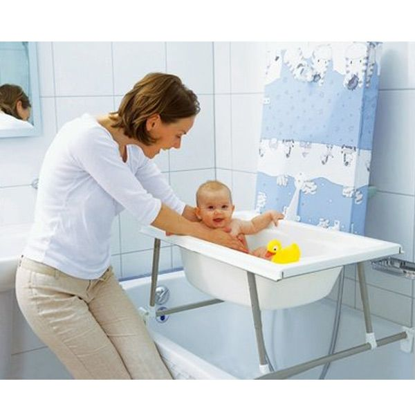 Bañera y cambiador 2 en 1 aqualight