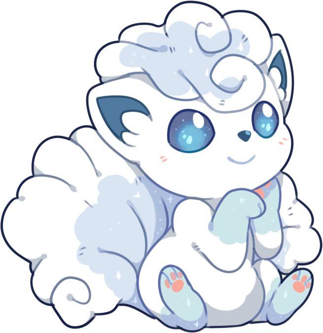 Extremely Cute Alolan Vulpix