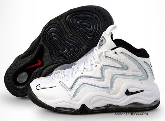 Nike Air Pippen 1 - White - Silver - Black