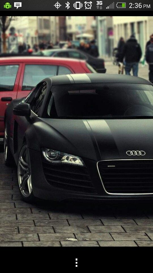 Audi- look at that flat black - Click the pic to learn for free how to make fast cash online! #AudiCars