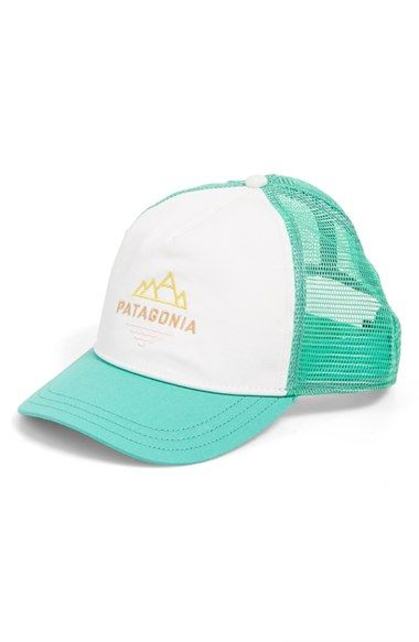 Patagonia+'Peak+to+Paddle'+Trucker+Hat+available+at+#Nordstrom