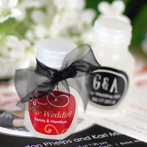 Classic Wedding Bubble Favors - Have to buy your own labels, Set of 24, 1-4 sets $9.58 each