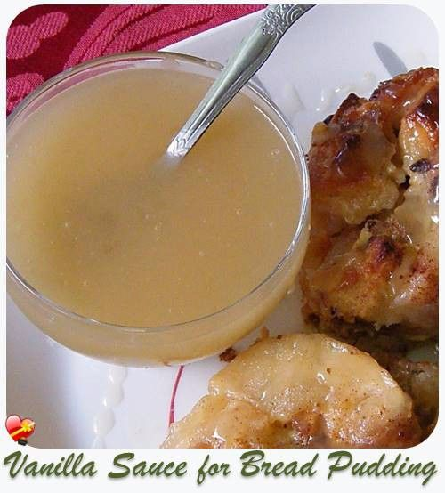 Simple And Delicious Local Style Vanilla Sauce For Bread