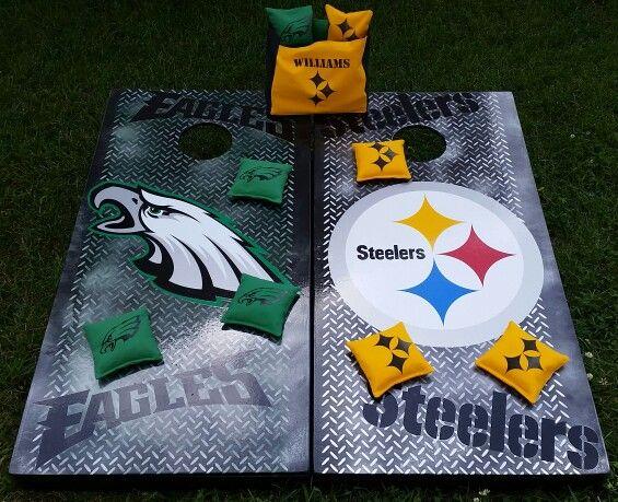 Eagles vs Steelers boards