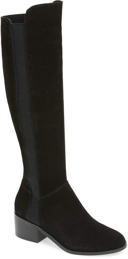 424e4fdd6fdd Steve Madden Giselle Over the Knee Boot | Products | Boots, Over the knee  boots, Block heel boots