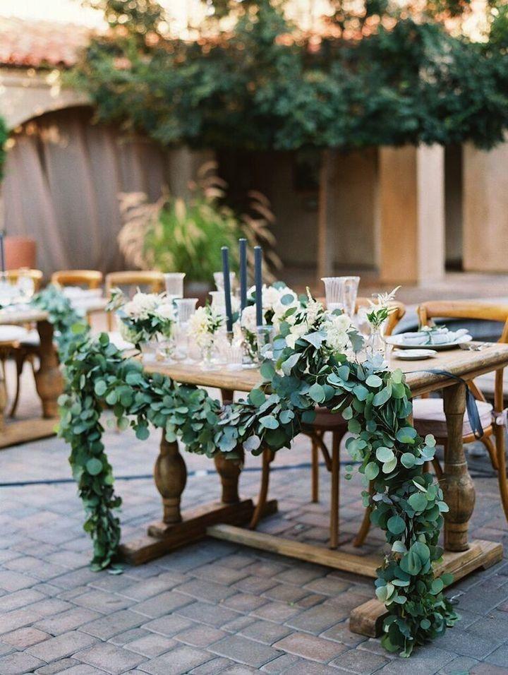 Wedding reception centerpiece idea; photo: Diana McGregor